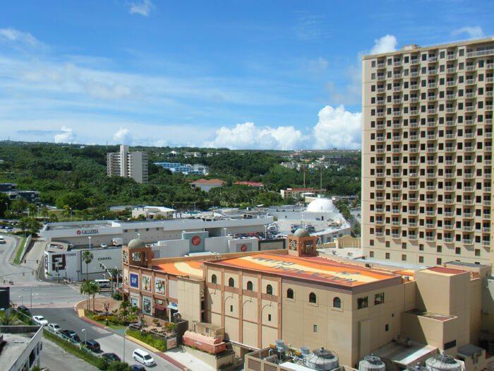 グアムリーフホテルからの眺め