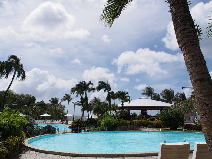 ホテルニッコーグアムのプール