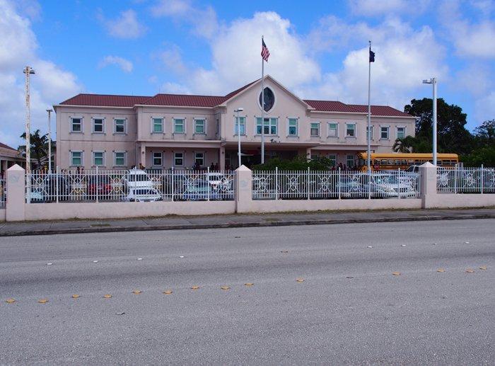 グアムの小学校