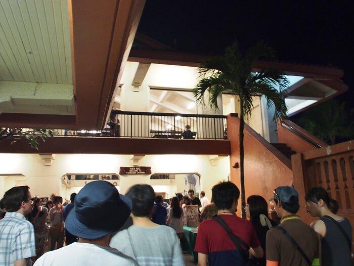 チャモロビレッジナイトマーケットダンス風景