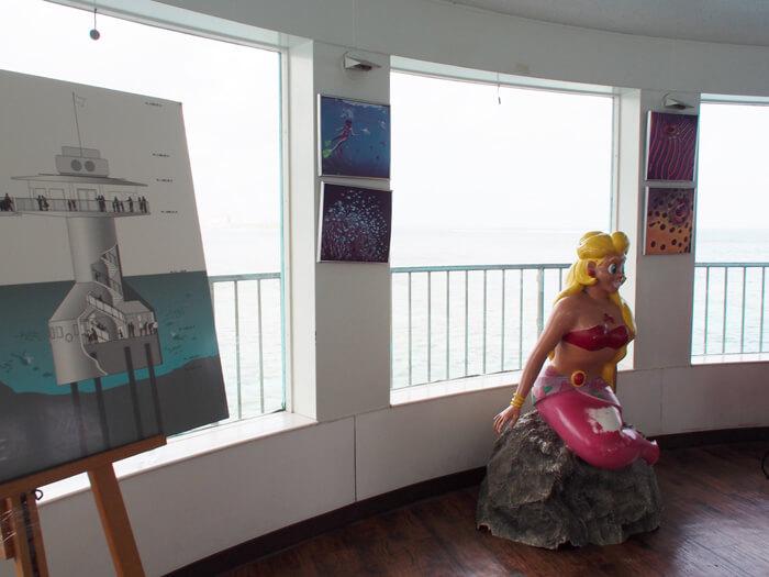 フィッシュアイ マリンパーク海中展望塔エントランス