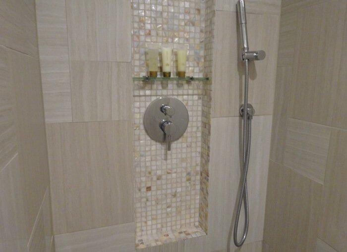 デュシタニグアムリゾートのシャワールーム