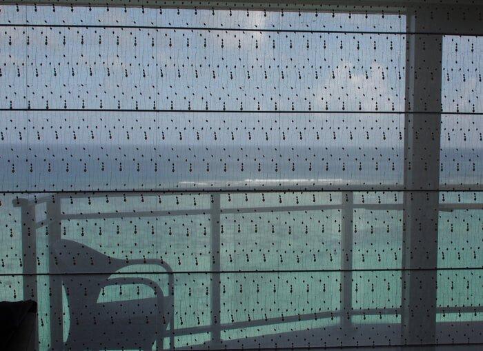 デュシタニグアムリゾートのカーテン