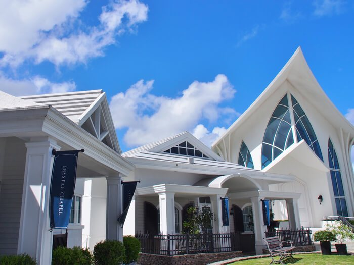 ホテルニッコーグアムのクリスタルチャペル