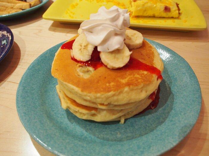 アイホップ・タモン店・パンケーキ