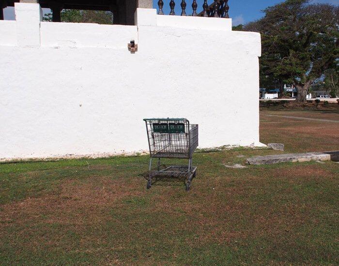 グアムのショッピングカート