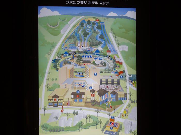 グアムプラザホテルマップ