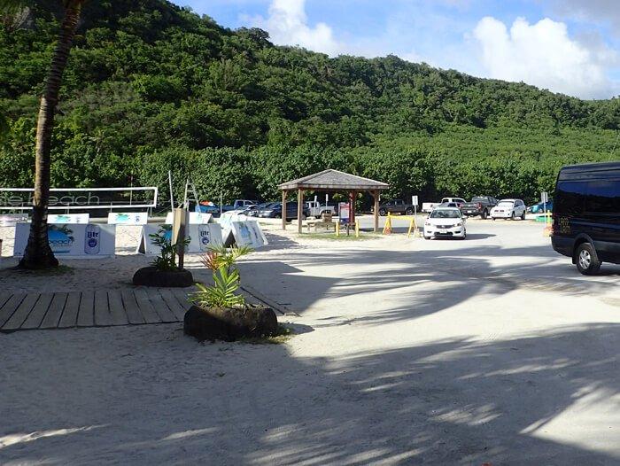 ザ・ビーチ停留所