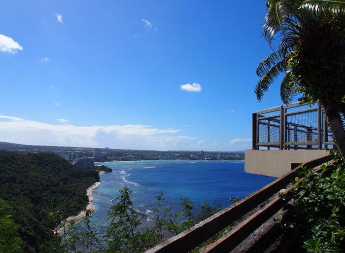 恋人岬展望台からの眺め
