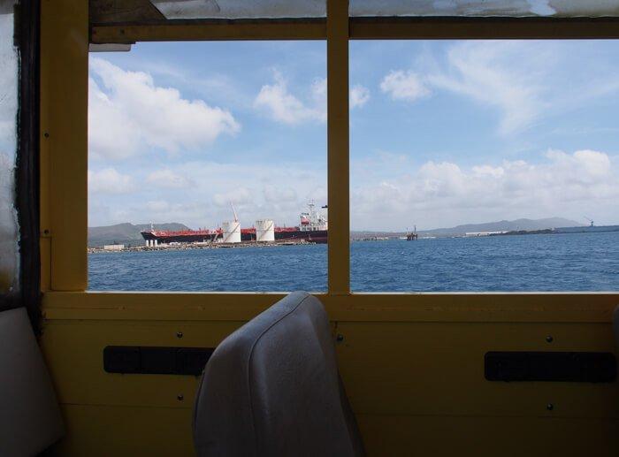 ライドザダックから見た海