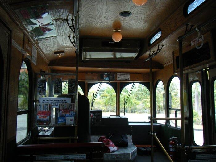 ハガニアシャトルバス