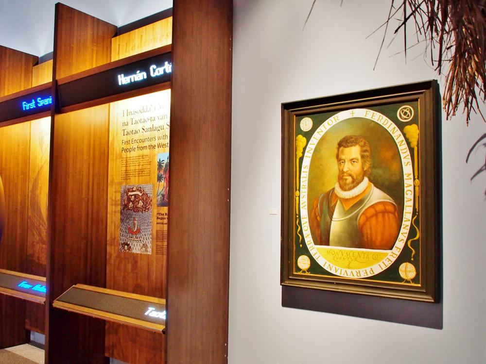 マゼランの肖像画(グアムミュージアム)