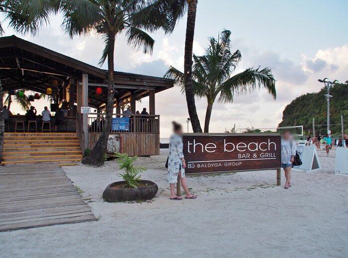 「ザ・ビーチ」入口