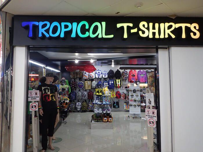 トロピカルTシャツ