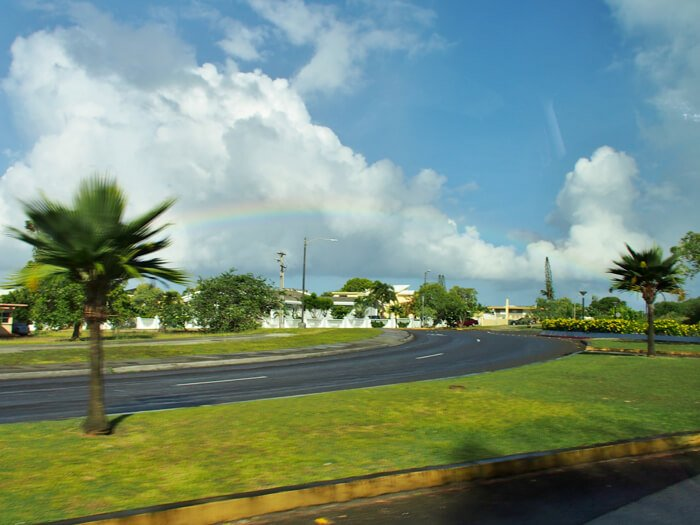 グアムの虹