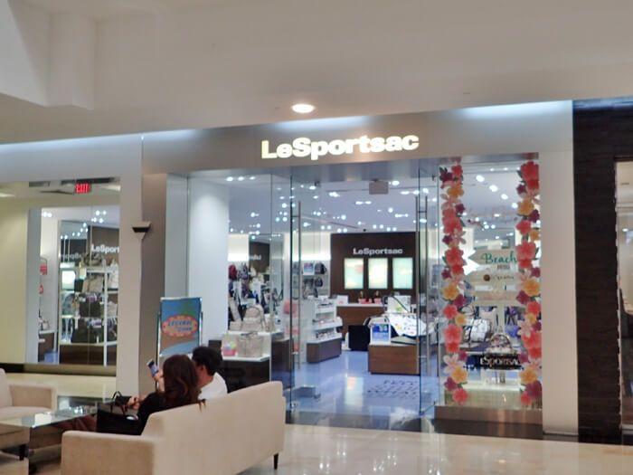 レスポートサックザプラザ店