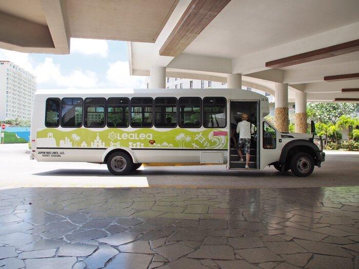 レアレアトロリー(HISのバス)