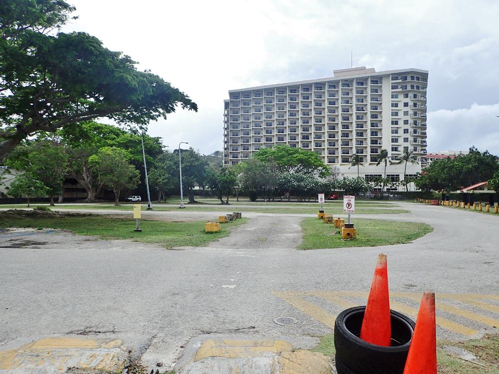 イパオビーチ駐車場