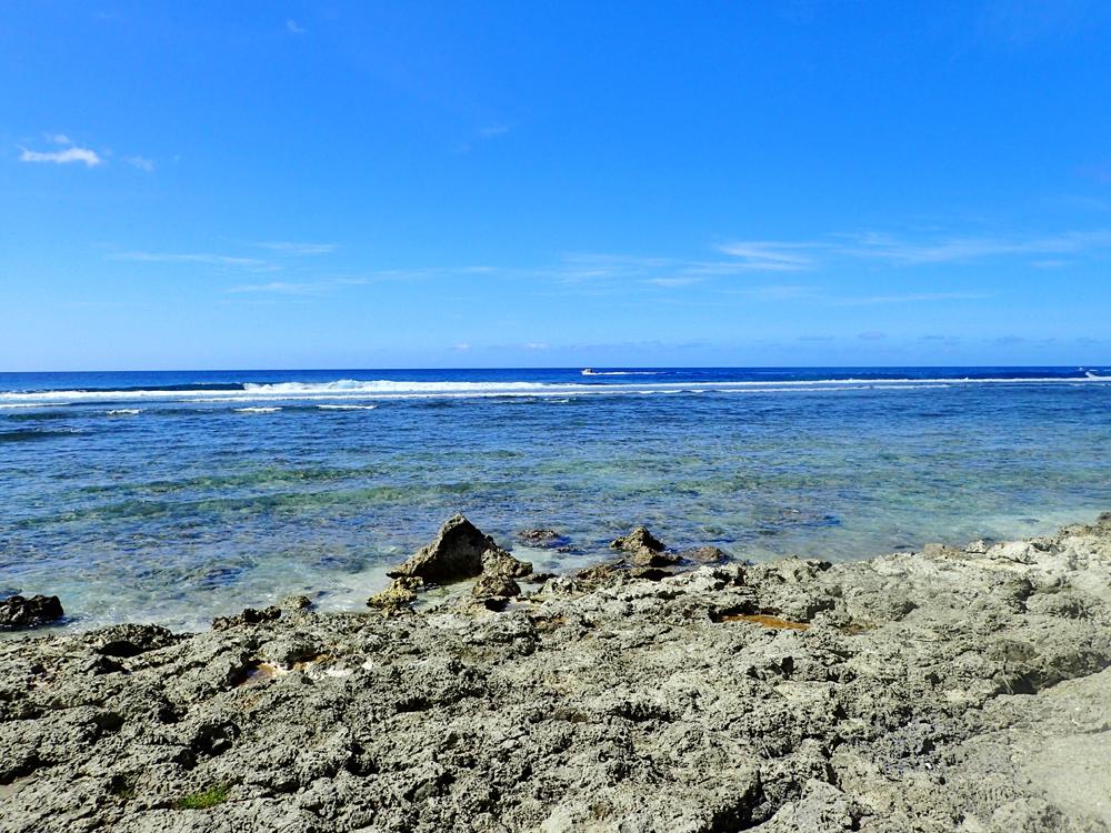 シェラトングアムのビーチ