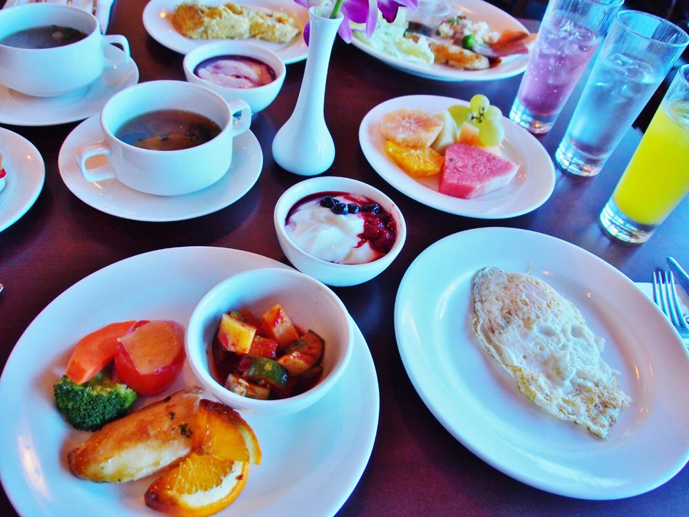 シェラトングアムの朝食「ラ・カスカッタ」