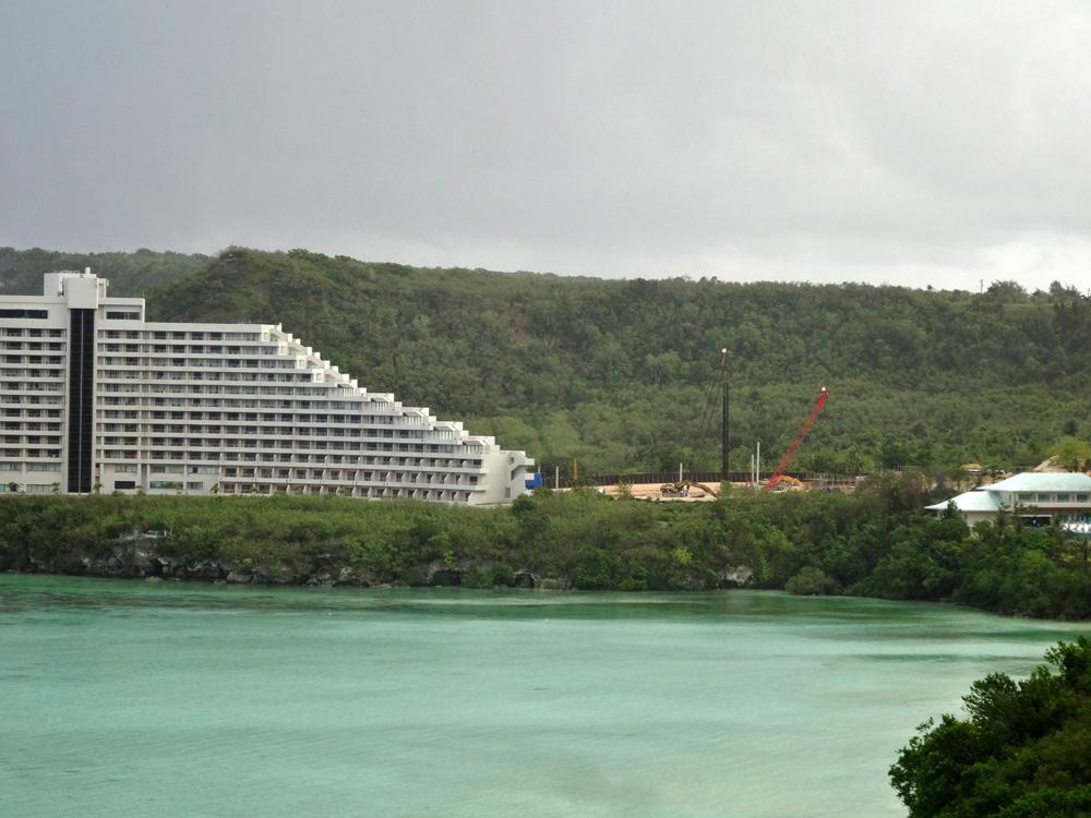 ホテル建設現場