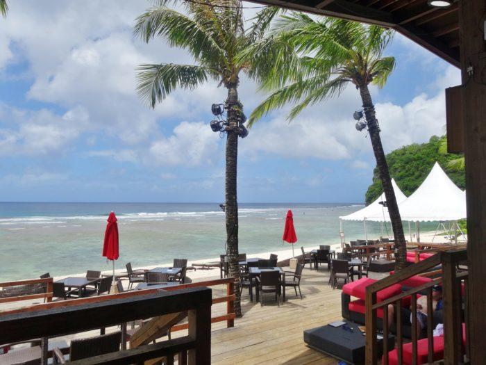 グアムのザビーチ