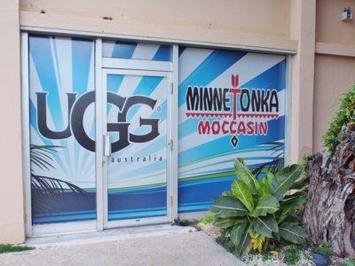 グアムのUGG店舗