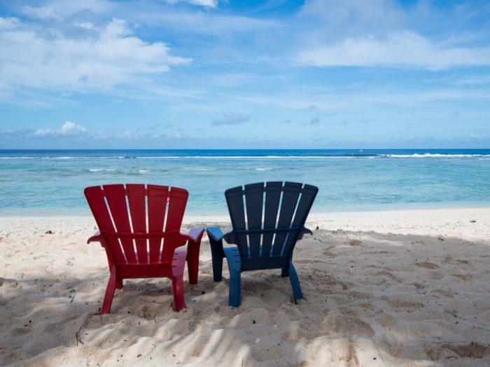 グアムのビーチ