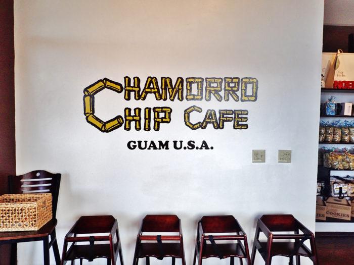 チャモロチップカフェ・グアム