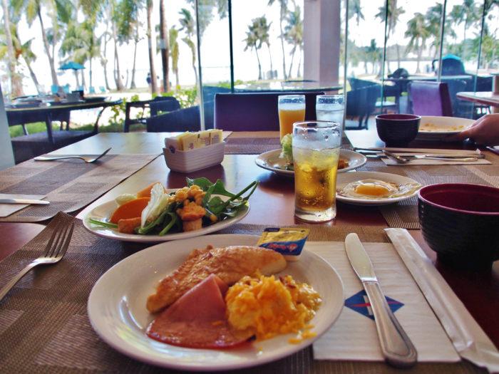フィエスタリゾートグアムの朝食