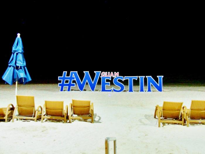 ウェスティングアムのビーチ