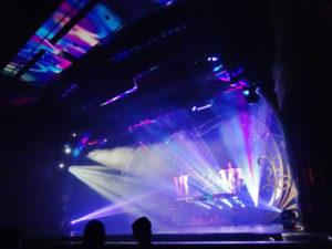 グアムのマジックショー